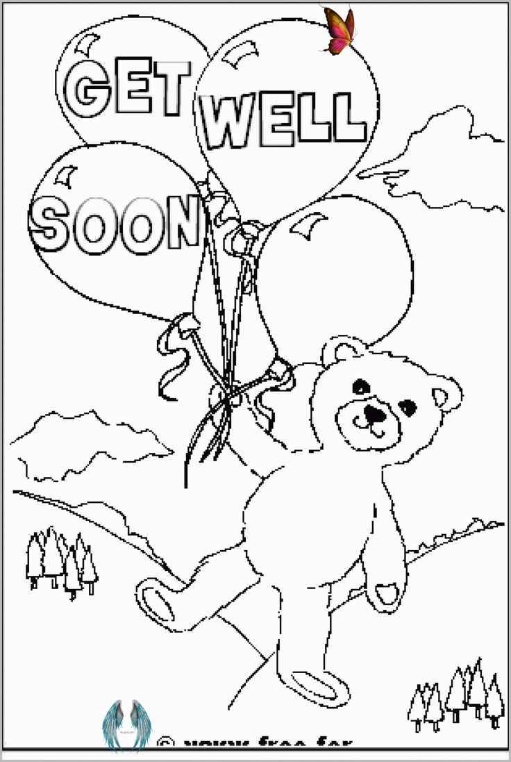 30 Get Well Soon Coloring Pages Printable Coloring Sheet Get Well Soon Coloring Pages Printable Colori In 2020 Free Get Well Cards Bear Coloring Pages Get Well Cards
