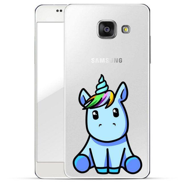 Smartphone-Hülle »Einhorn CYAN für Samsung Galaxy A5 2016« Samsung Galaxy A5 2016