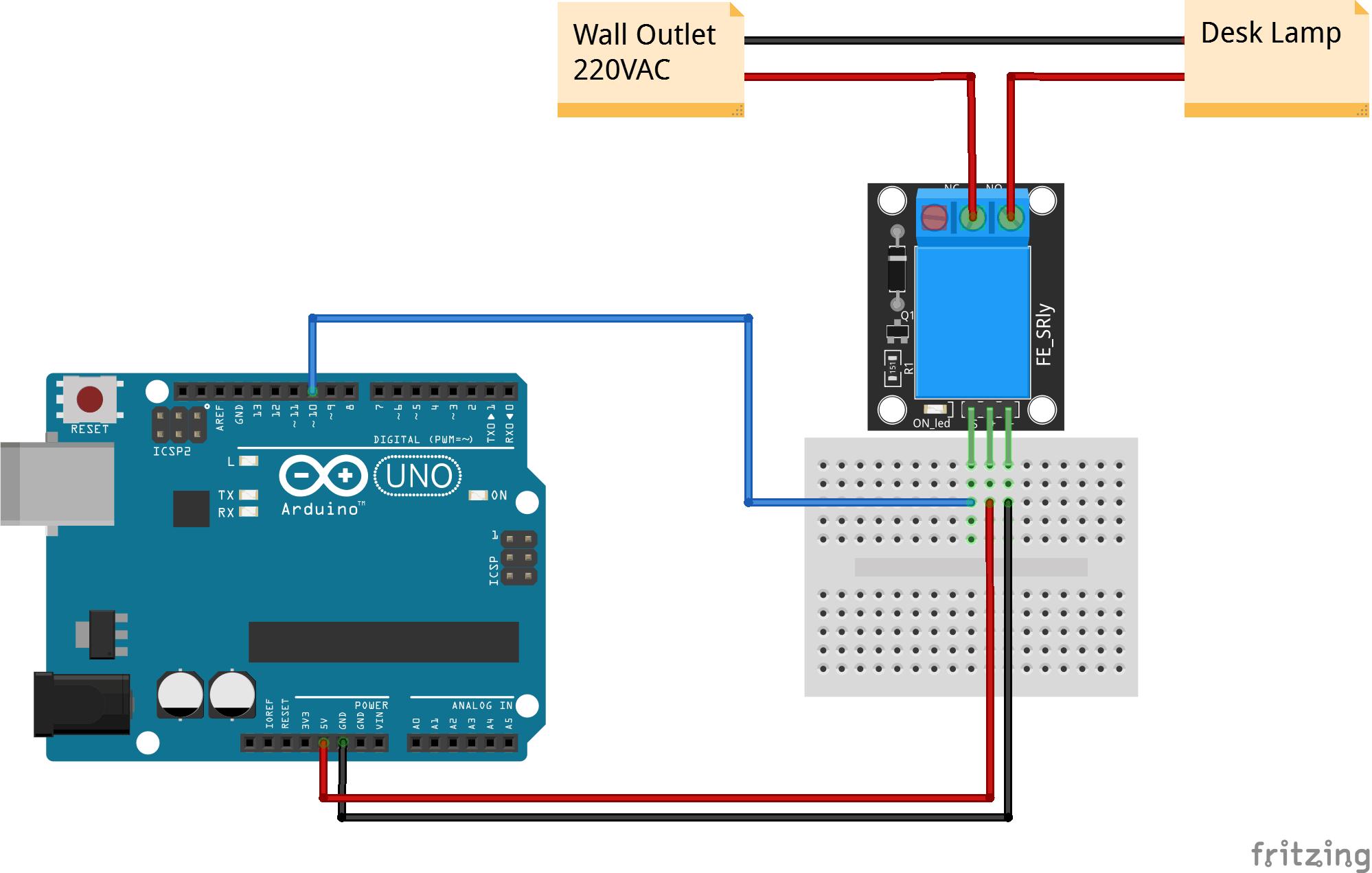 Arduino KY019 5V relay connection diagram ARDUINO Pinterest