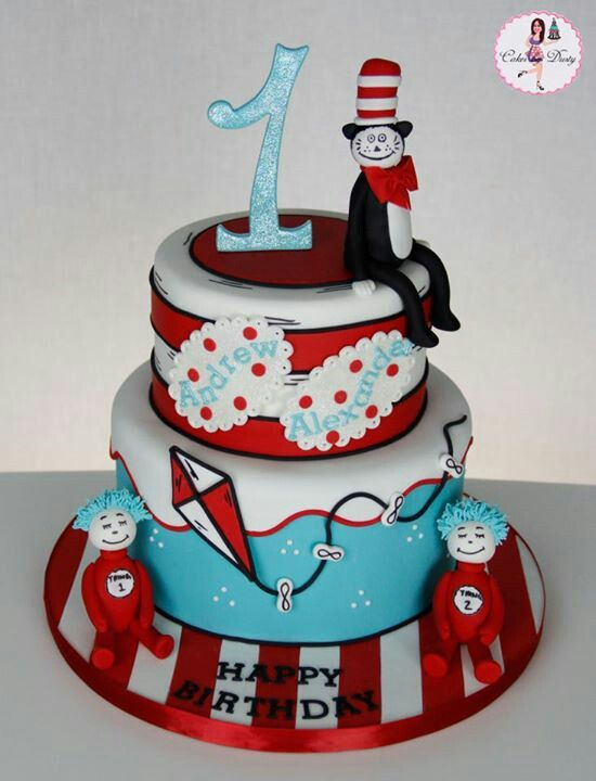What A Fantastic Cat In The Hat Cake Thecatinthehat