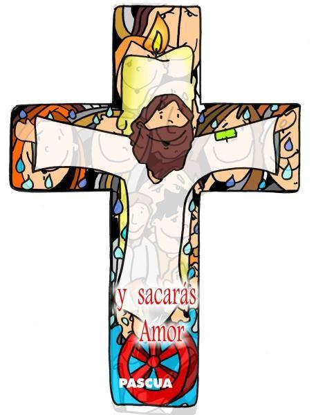 La Cruz Del Amor Dibujos De Jesus Imagenes De Cruces Semana Santa Ninos