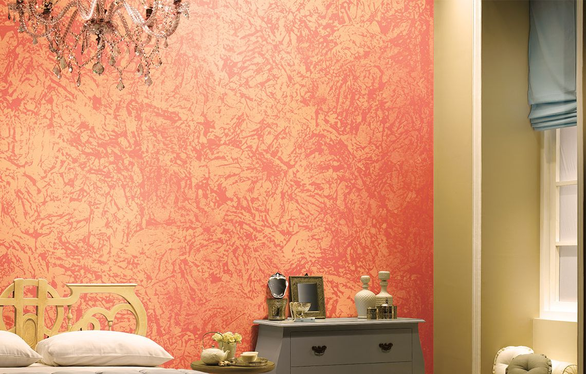 Asian Paints Latest Bedroom Wall Texture Designs (With ...