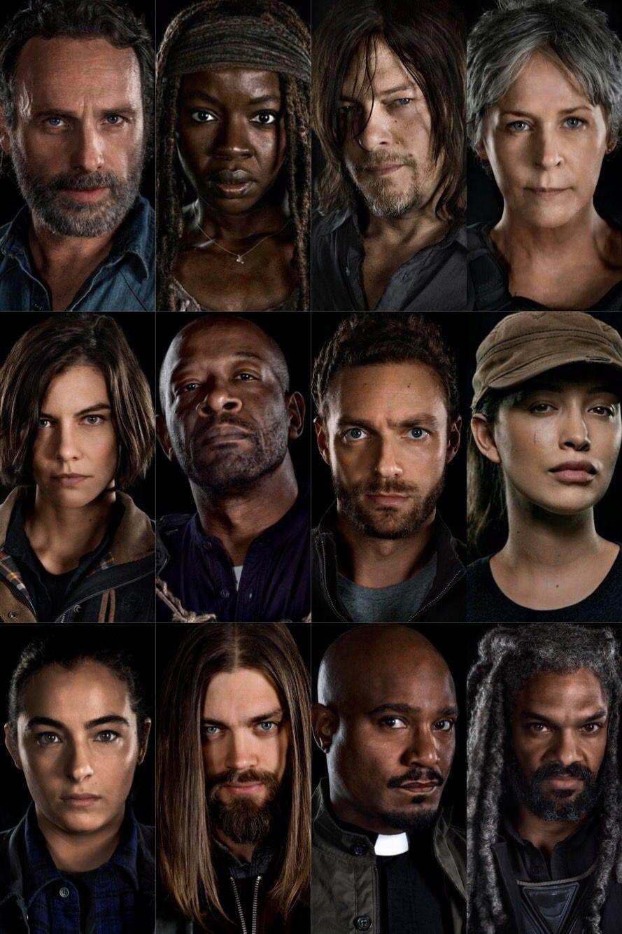 Season 8 Rick Michonne Daryl Carol Maggie Morgan Aaron