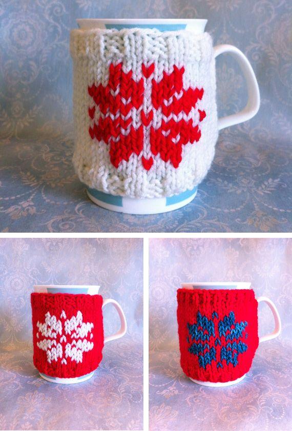 Christmas mug cozy | Awesome | Pinterest | Nacimientos de navidad ...