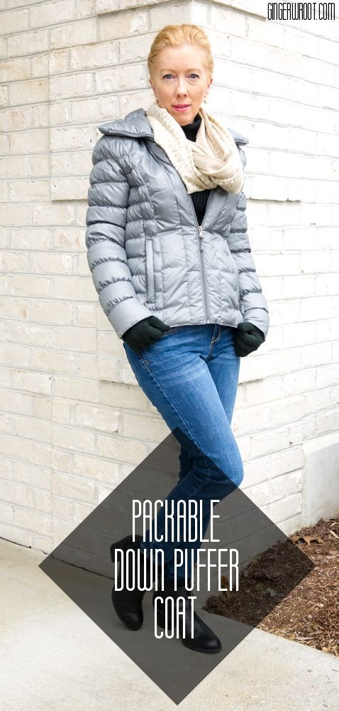 aaec54b65a3057 What the Wroot Wore Wednesday  Packable down puffer coat is perfect!