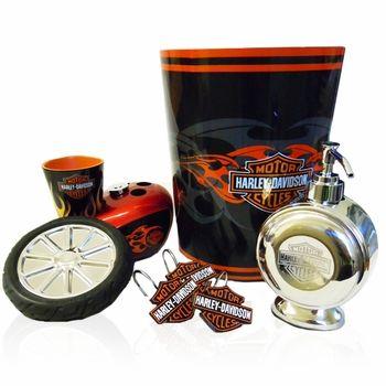 Harley Davidson Bathroom Accessories