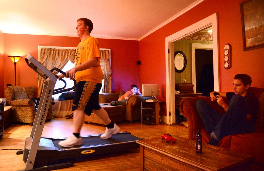 Photos Combining Family Room And Gym Google Search Family Room Great Rooms Apartment Living
