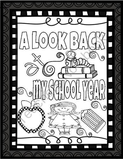 Memory Book  End Of The School Year From Teaching Fun On  TeachersNotebook.com