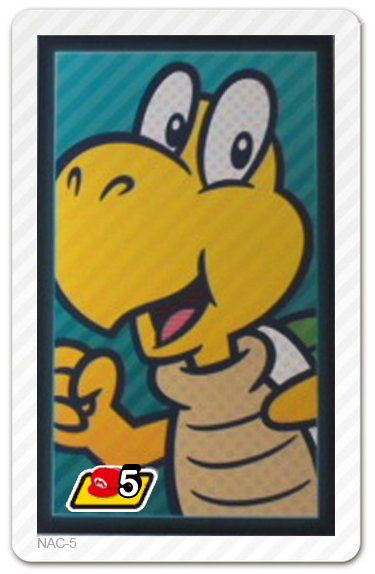 Photos with Mario AR Cards   Koopa Troopa AR Card