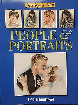 drawing in color people portraits booksnonfiction wwwinternetauctionservicesllccom 1499 - Colored People Book