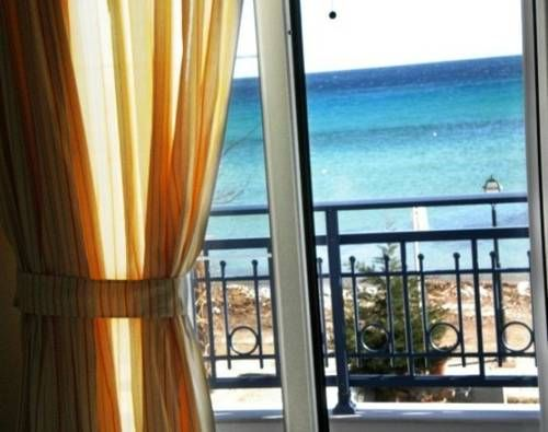 Arion Hotel Thassos Offering rooms with open sea views, Arion Hotel is located right on the beachfront, in the village of Skala Potamias in Thassos. The hotel offers a spacious open-air, sea-facing terrace.  All rooms have private balcony facing the sea or Mount...