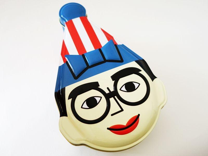 くいだおれ太郎のボールチョコ パッケージも可愛いお土産 Package