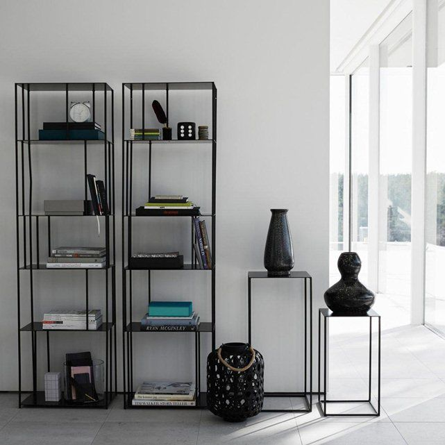 Biblioth que m tal parallel am pm etag res pinterest book shelves shel - Bibliotheque metal design ...
