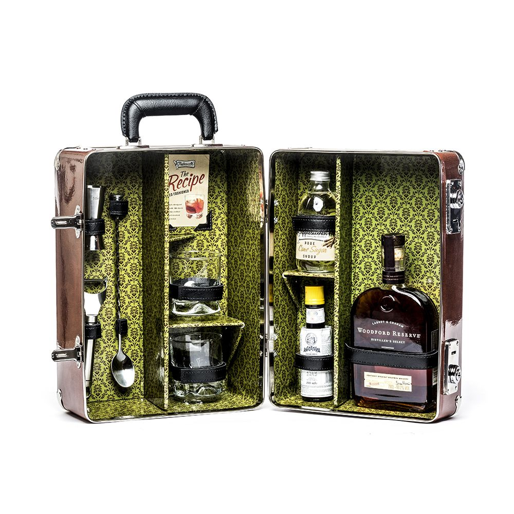 Old Fashioned Cocktail Case Via.