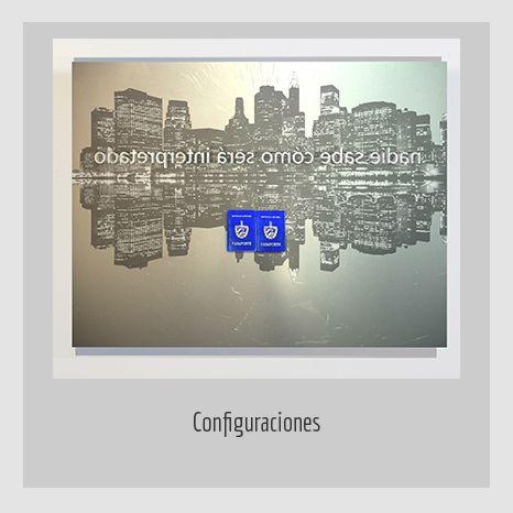 CONFIGURACIONES.  YENY CASANUEVA Y ALEJANDRO GONZÁLEZ. PROYECTO PROCESUAL ART.