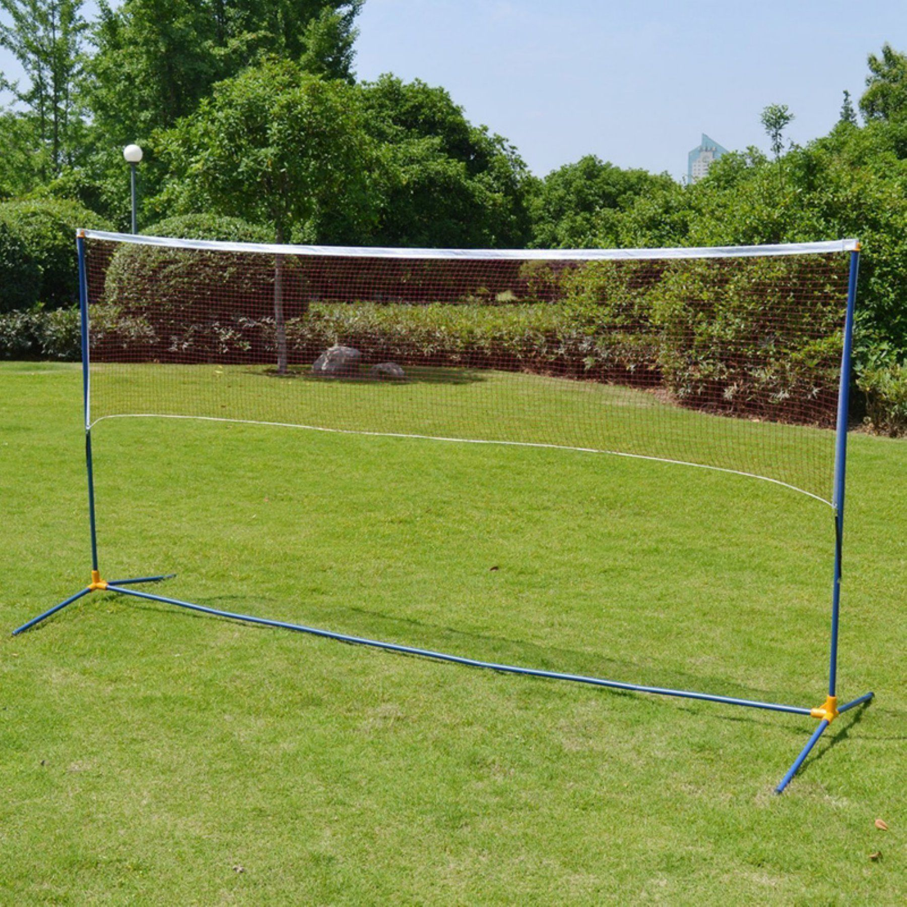 Sunrise Portable Outdoor Volleyball Training Net With Carrying Bag Jb 518 Badminton Set Badminton Volleyball