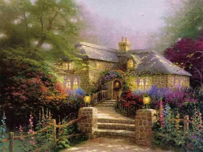 Pin Von Wendy Kalsbeek Auf Malerei Bilder Bemalte Hauser Haus Malen