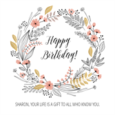 Free Printable Cards The Best Part You Can Edit What Is Written Inside Birthday Card Printable Editable Birthday Cards Birthday Cards For Her