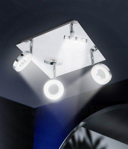 LED Badkamer Plafondschijnwerper Modern/ Chroom/ Lamp Badkamerlamp ...