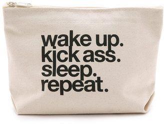 bfa69955b8896c Wake Up, Kick Ass, Sleep, Repeat #bag   makeup   Bags, Bag quotes ...