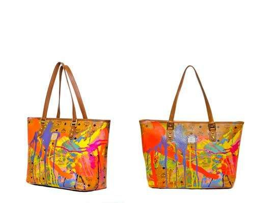 Modern Art Handbags And Practicality Meet To Create The Mcm Gallery