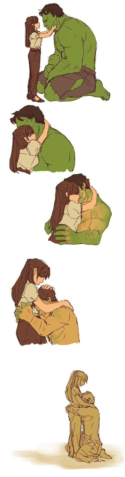 Everybody's Gotta Have Somebody. I'm not really a Hulk fan but I think this one speaks to everyone ^_^ <3