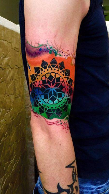 Los Mejores Tatuajes A Colores Tatuajes Coloridos Tatuajes A