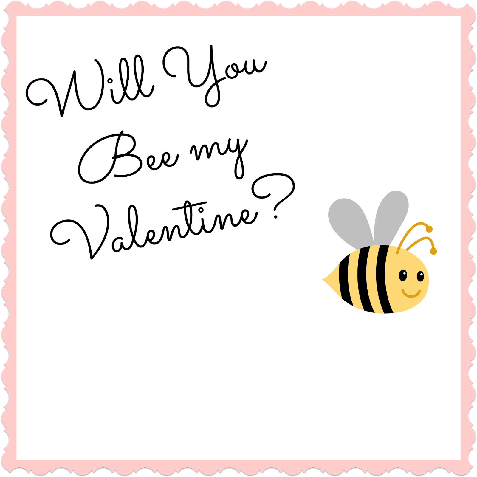 Will You BEE My Valentine? Attach A Burtu0027s Bees Chapstick Or A Jar Of Honey