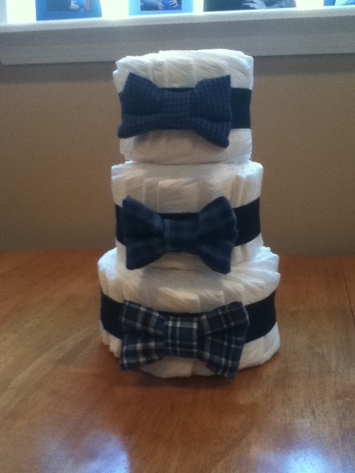 made this for a shower bow tie theme my crafts. Black Bedroom Furniture Sets. Home Design Ideas
