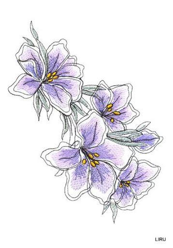 LAMINAS... Y TRABAJOS CON FLORES | Laminas, Es facil y Las flores