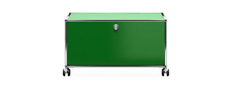 USM Haller TV Lowboard S - 1 Klappe Grün Jetzt bestellen unter