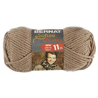 Bernat Softee Chunky Yarn, Soft Taupe | Blanket Ideas ...