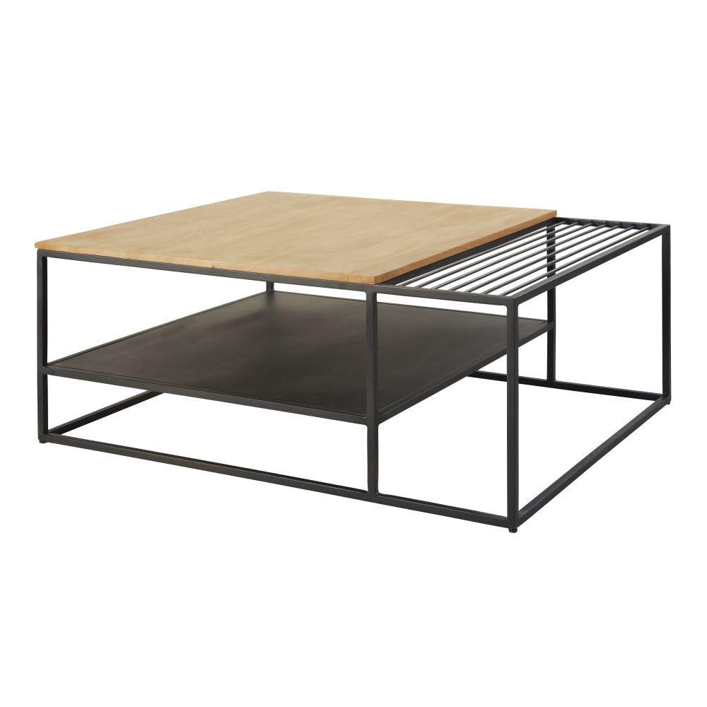 Tables Et Bureaux En 2019 Salon Table Basse Double Plateau