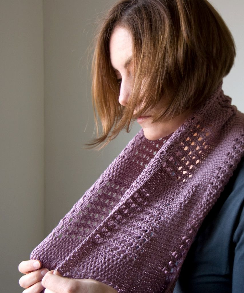 e4f4090ff5f0 Free Knitting Pattern  Canaletto Cowl
