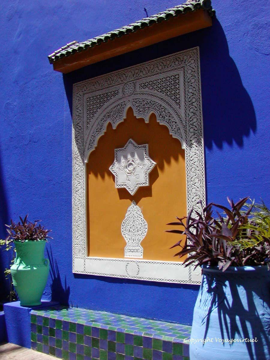 Ombre & lumière jardín Majorelle Marrakech | maroc-deco | Pinterest
