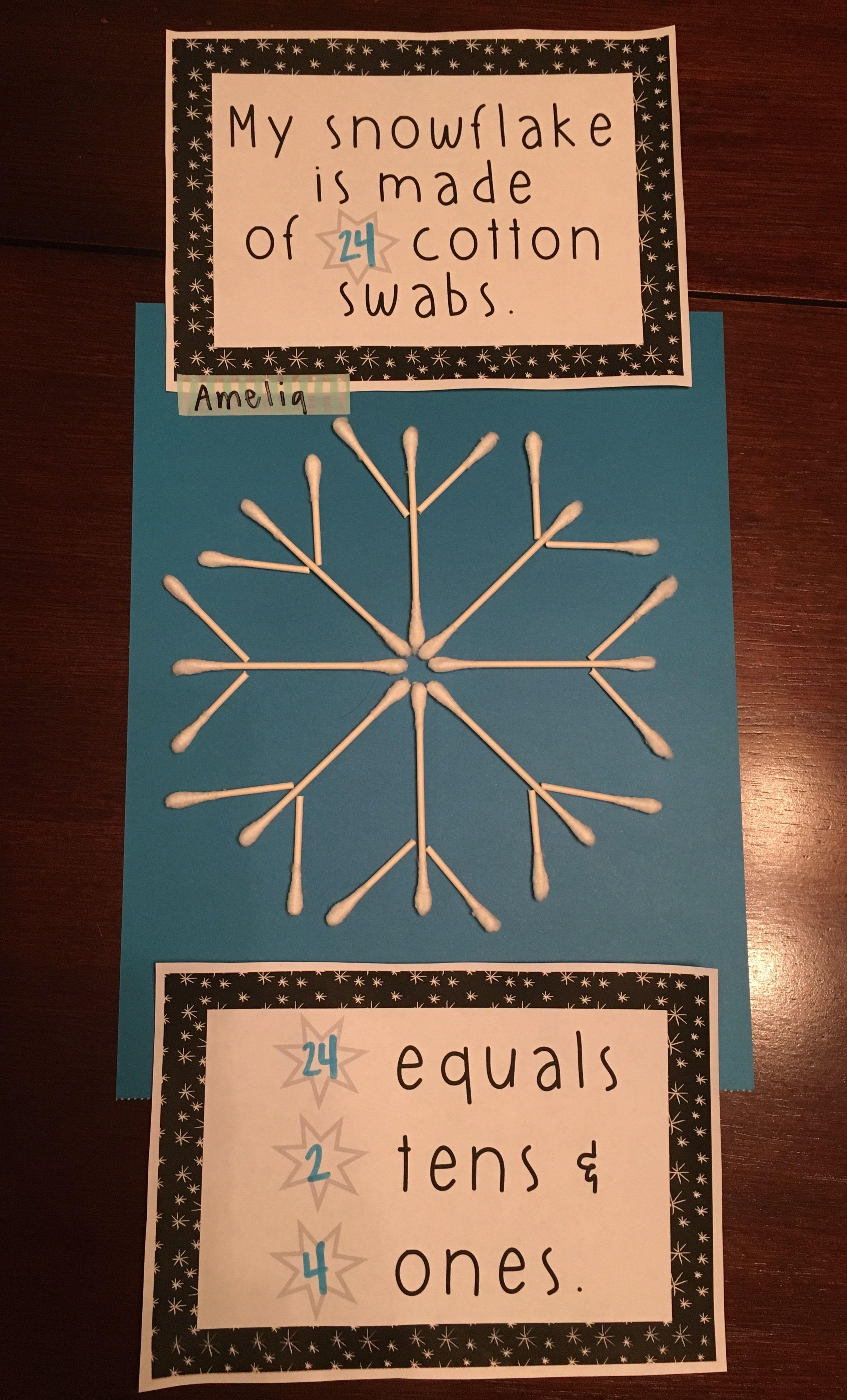Array Winter Common Core Bulletin Board Craft