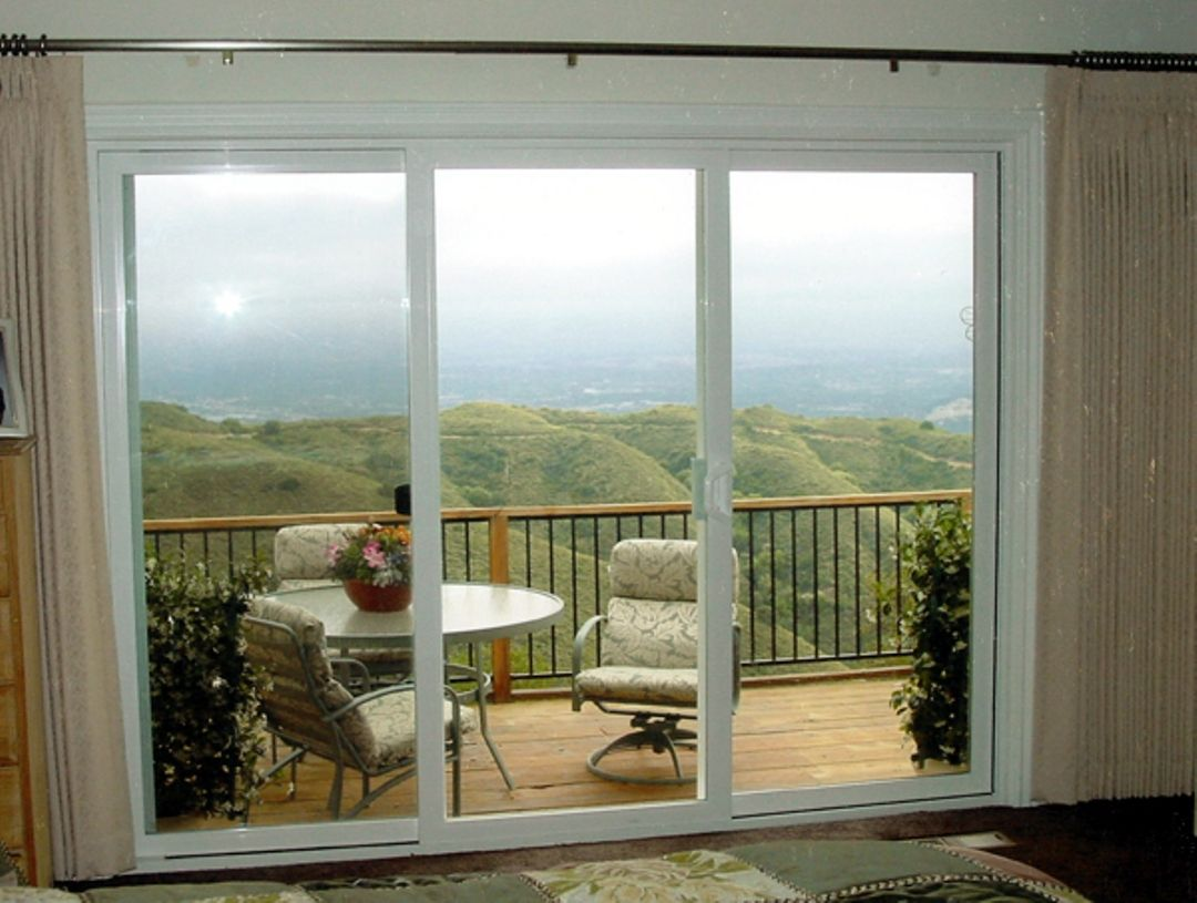 Amazing 3 Panel Patio Door
