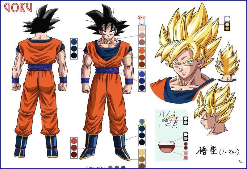 Goku Character Design Dragon Ball Art Goku Dragon Ball Super Artwork Anime Dragon Ball Super