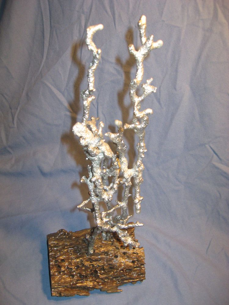 Details about Ant Hill Anthill Art Casting Aluminum