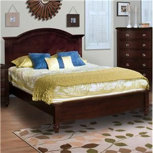 New Classic Victoria Queen Panel Bed Furniture Queen Panel Beds
