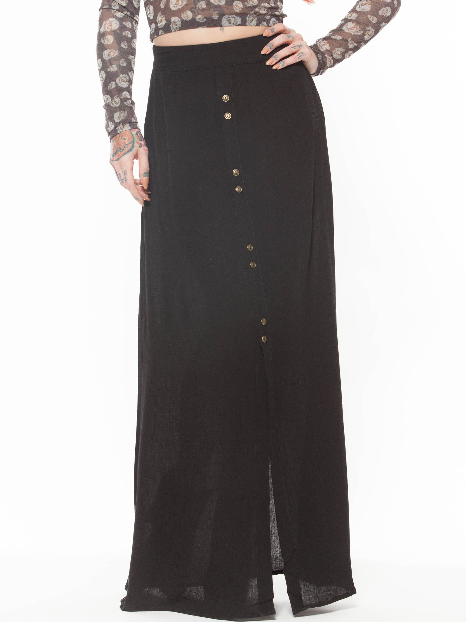 Merlina Maxi Skirt from Grit N Glory