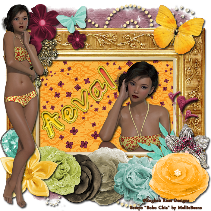 Aeval's Art: CT Tutorial for Summer 5 and Boho Chic