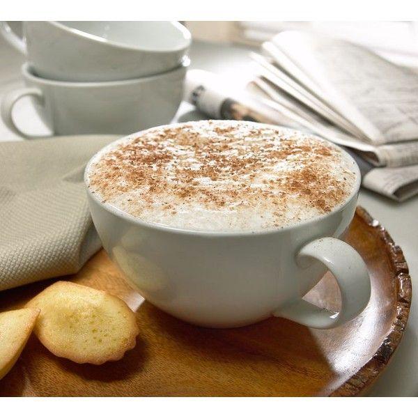 Pottery Barn Great White Cappuccino Mug Set Of 4
