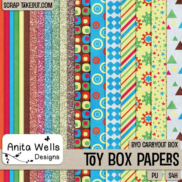 Toy Box Paper Pack