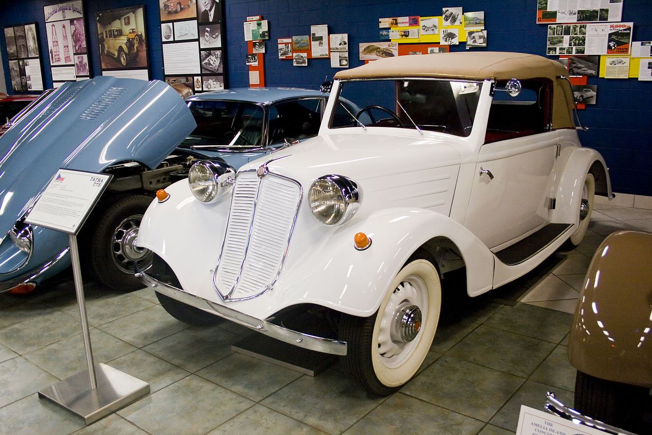 Tatra T75 - Tampa Bay Automobile Museum - Wikipedia, the free encyclopedia