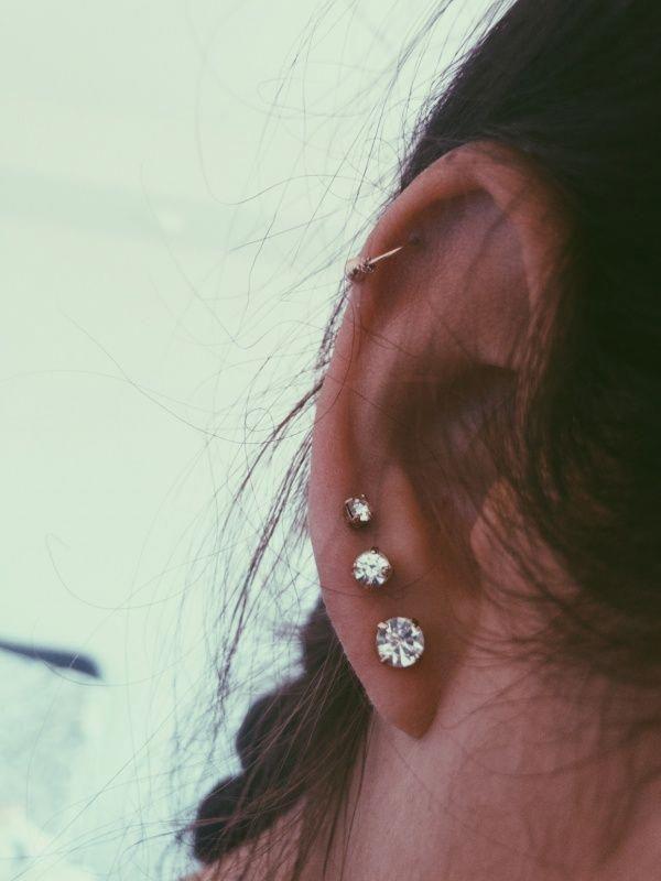 Photo of 14K Rose Gold Emerald Studs Earrings – Fine Jewelry Ideas