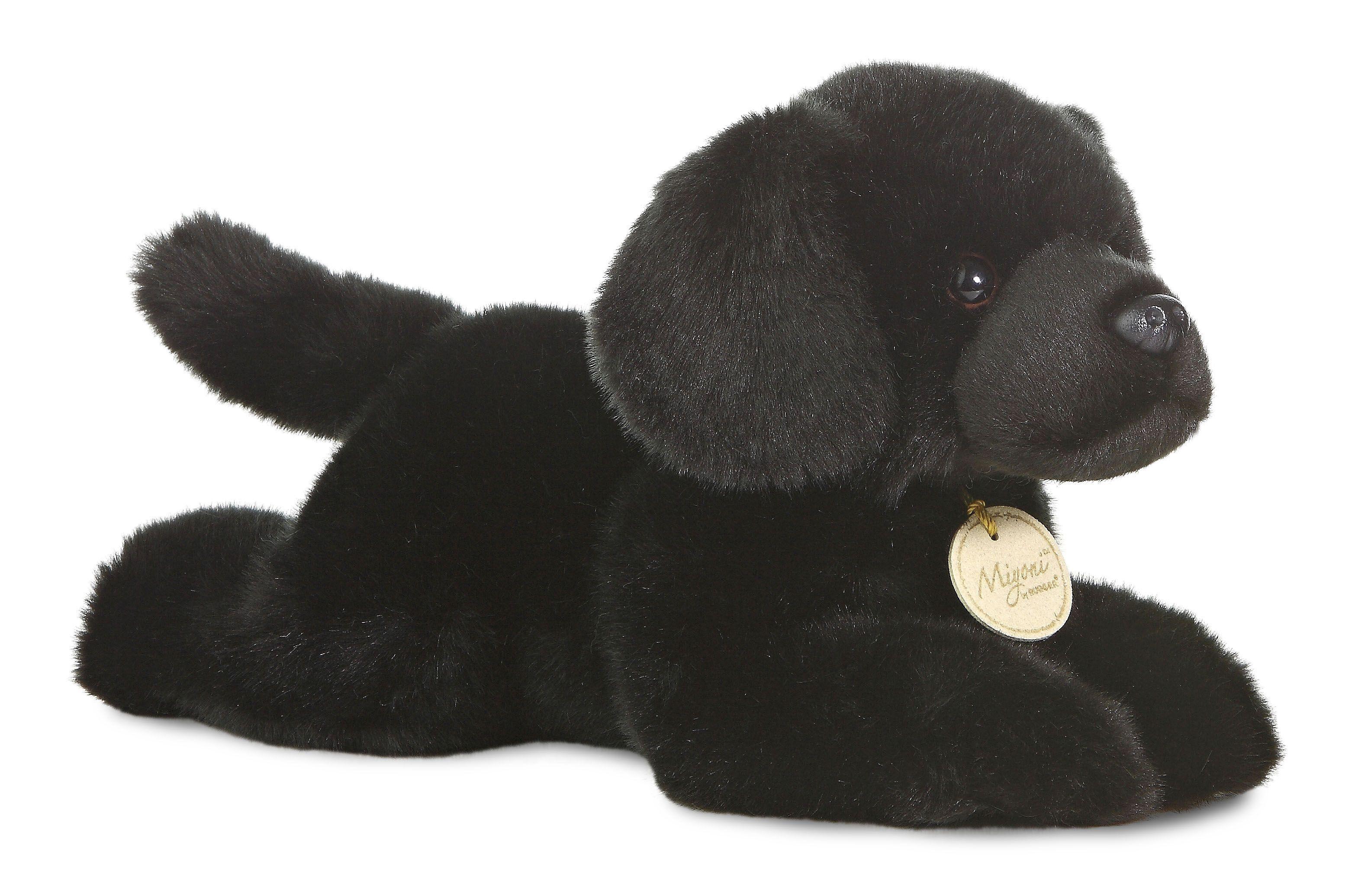 Miyoni black labrador kuscheltier hund niedliche