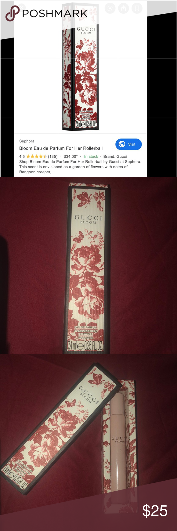 Gucci Bloom Roller In 2020 Gucci Makeup Bloom Gucci
