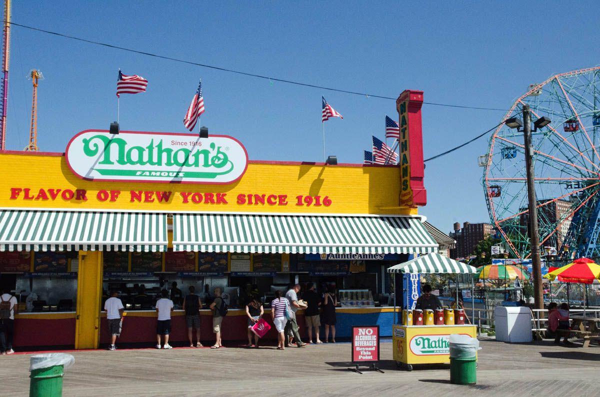 Coney Island, Brighton Beach & Cafe Glechik Brooklyn