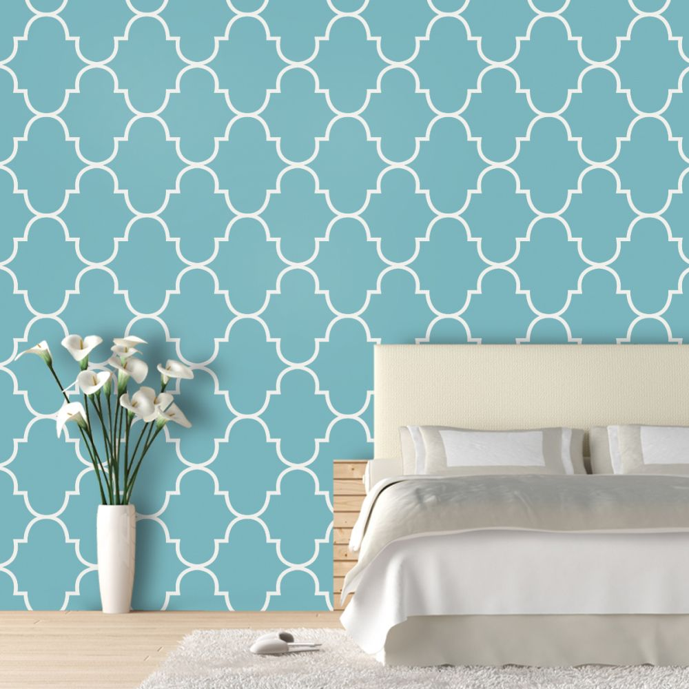 Classic Trellis: Luxury removeable wallpaper by Swag Paper ...